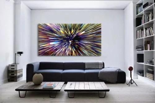 Tableau Design Et Moderne Ultra Originale Decoration Murale Salon 3d