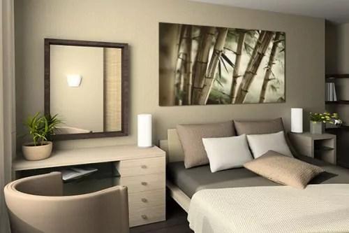 Tableau Zen Bambouseraie Decoration Tropicale