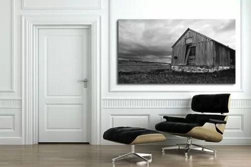 Tableau Noir Et Blanc Decors Muraux Design Izoa