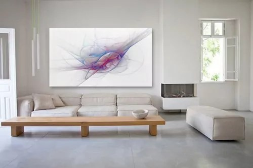 Tableau Abstrait Tornade Artistique Izoa