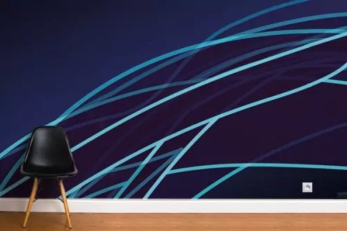 Papier Peint Violet Pour Une Deco Murale Contemporaine