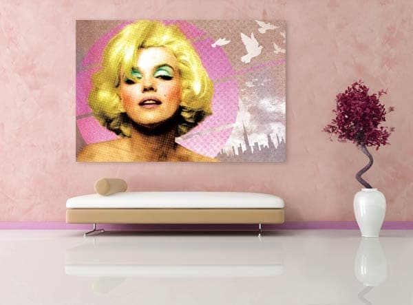 tableau deco de Marilyn Monroe