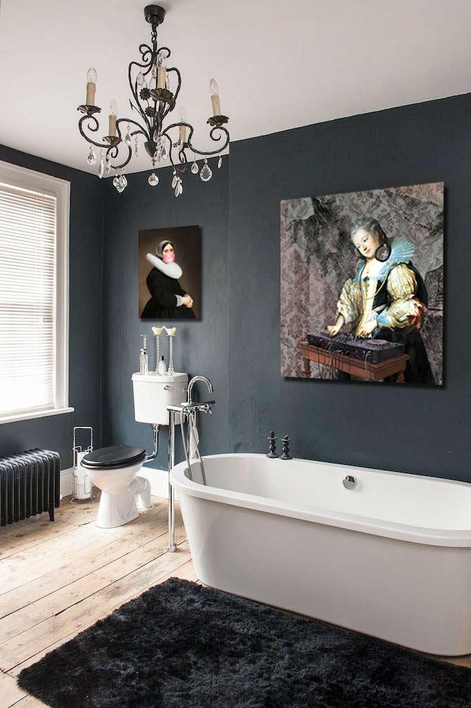 quel tableau pour un mur gris blog izoa