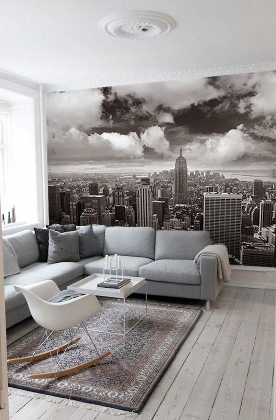 papier peint new york panoramique pour salon
