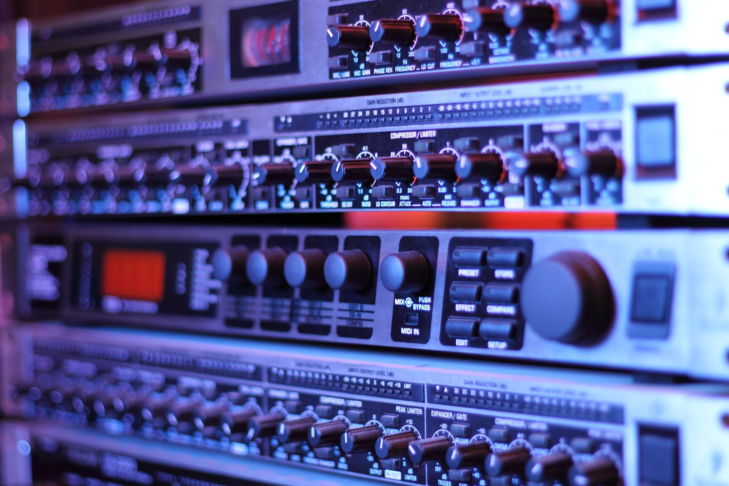 Audio Dynamics 101 Compressors Limiters Expanders And