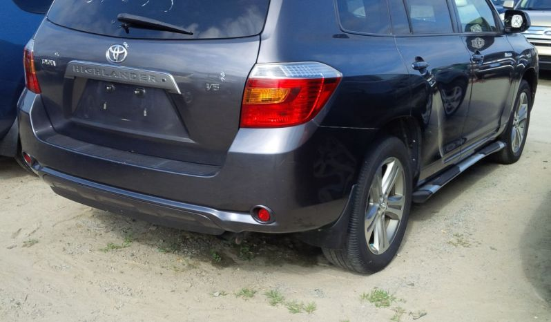 Toyota Highlander 2008 full
