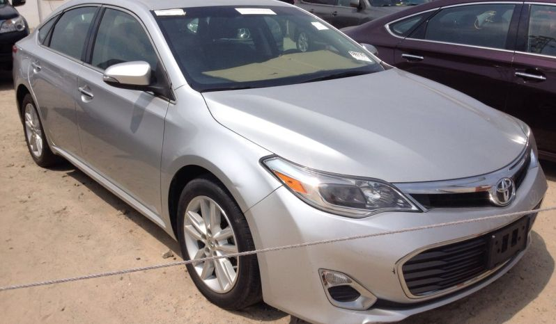 Toyota Camry XLE 2013/14 Silver full