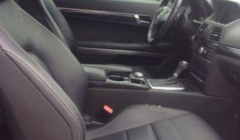 Mercedez Benz – E350 coupe full