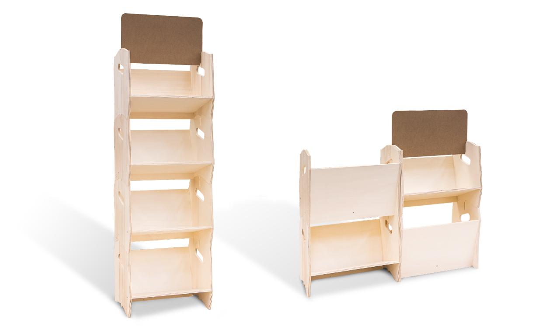 etagere bois design