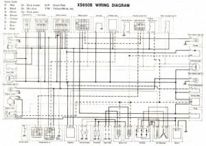 RProCompany アールプロ : XS650配線図