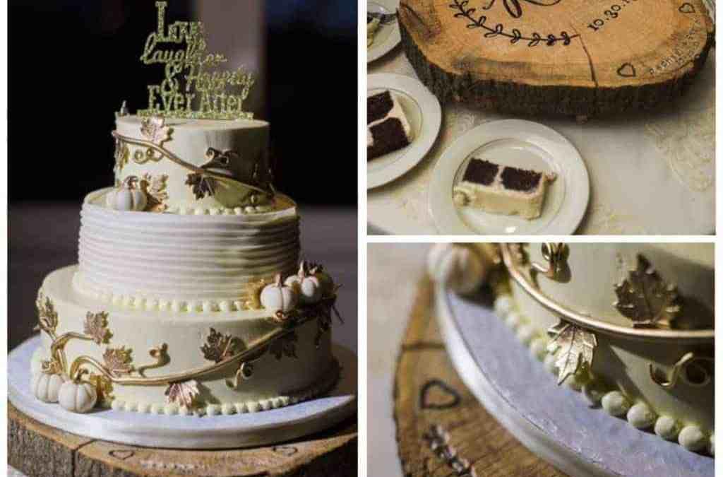 Rachael & Steve's Fairy Tale Autumn Wedding Cake