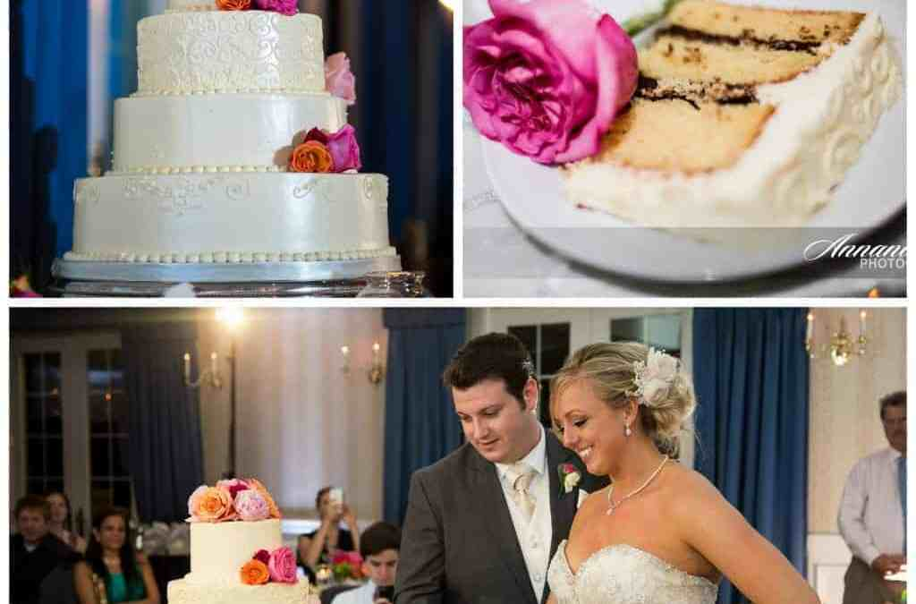 Sarah and Blair's 4-tier Wedding Cake