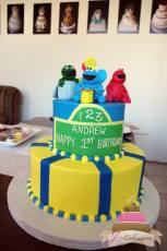 (416) Sesame Street Birthday Cake