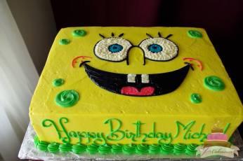 (439) Spongebob Cake