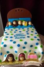 (451) Slumber Party Birthday Cake