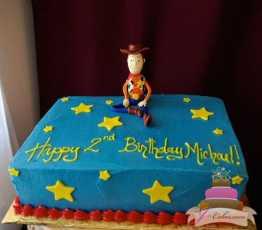 (453) Toy Story Birthday Sheet Cake