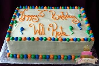 (467) Standard Design Birthday Cake