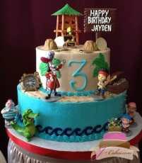 (470) Jake and the Neverland Pirates Birthday Cake