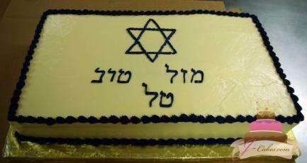 (2009) Simple Bar Mitzvah Cake