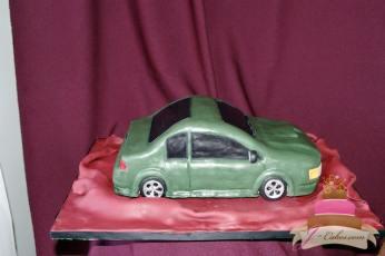 (710) Car Groom's Cake