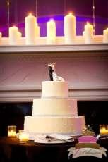 (1086) Rhinestone Wedding Cake