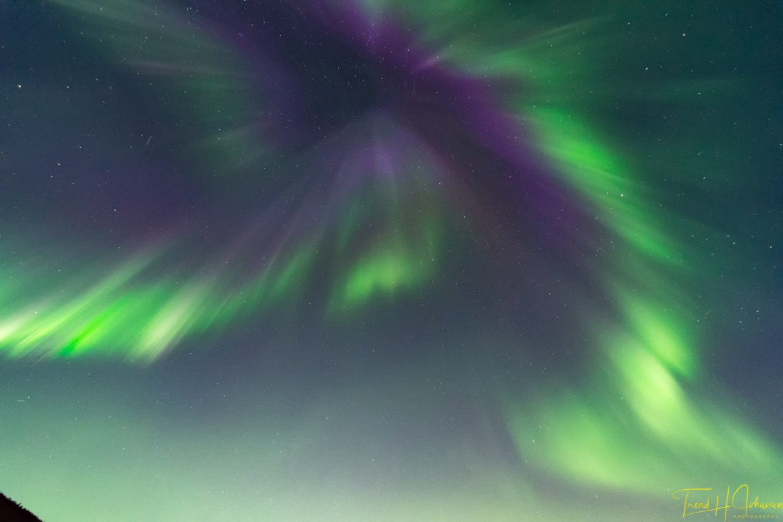 Aurora borealis september 2017