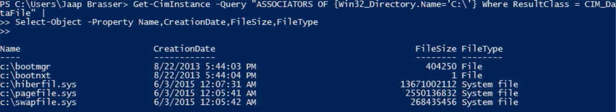 Search for Files, WMI Remotely   Jaap Brasser's Blog