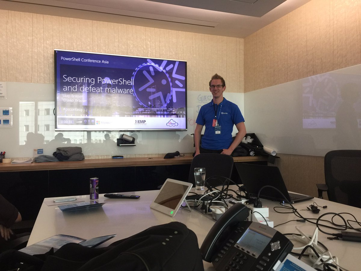 Presenting Securing PowerShell