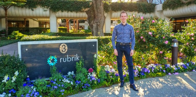 February 2018 My first visit to the Rubrik campus in Palo Alto
