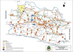 peta lokasi rawan bencana alam longsor jawa barat