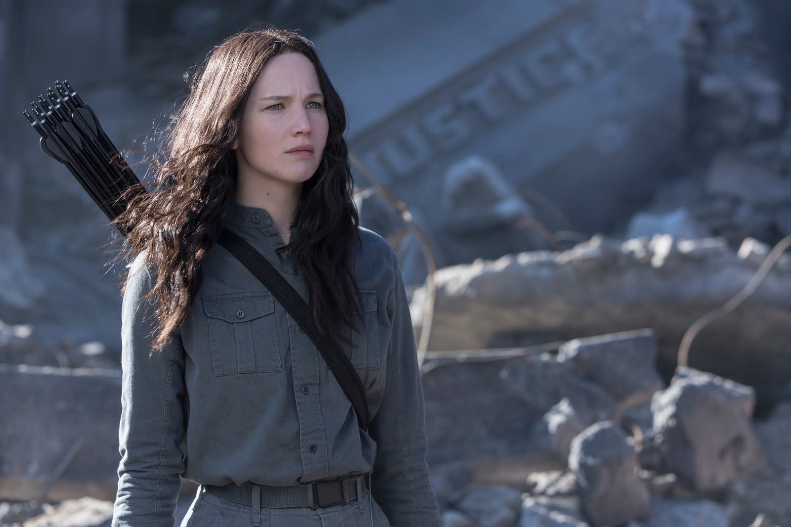 ... The Hunger Games: Mockingjay Part 1' Show Haymitch, Katniss, Boggs