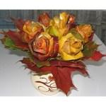 Cómo hacer rosas a partir de hojas