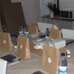 Algunas fotos del taller de jabones naturales