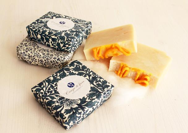 Jabón de algodón de Campo di fiore