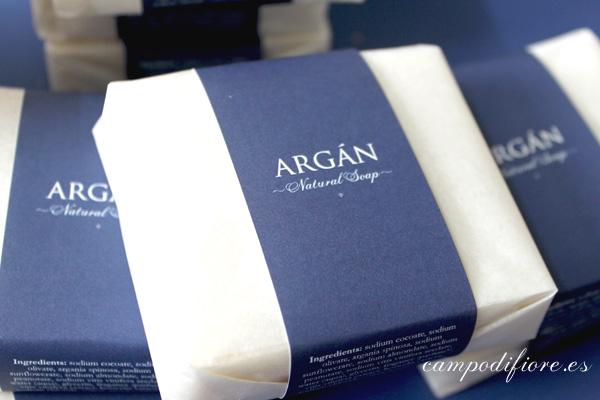 Jabón natural de argán de Campo di fiore