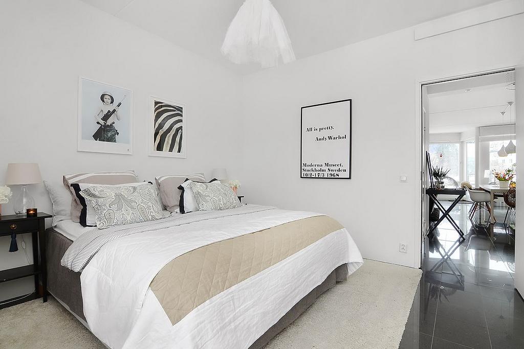 Apartamento de 85 metros cuadrados - dormitorio