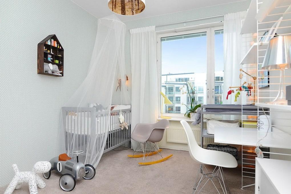 Apartamento de 85 metros cuadrados - dormitorio niños