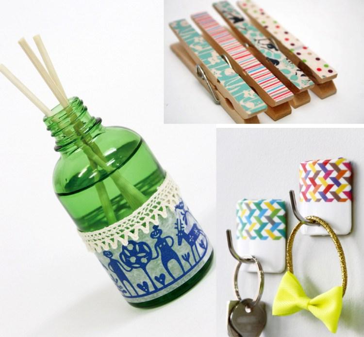 Ideas para decorar con washi tapes