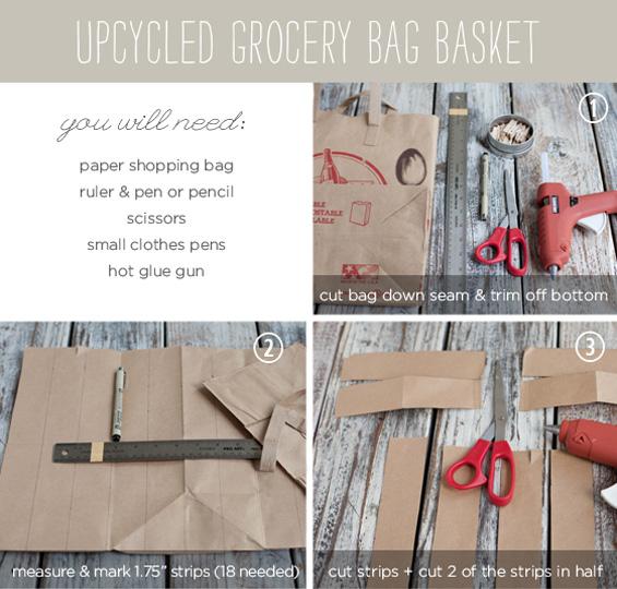 DIY - Hacer cestas de fruta con papel - instrucciones