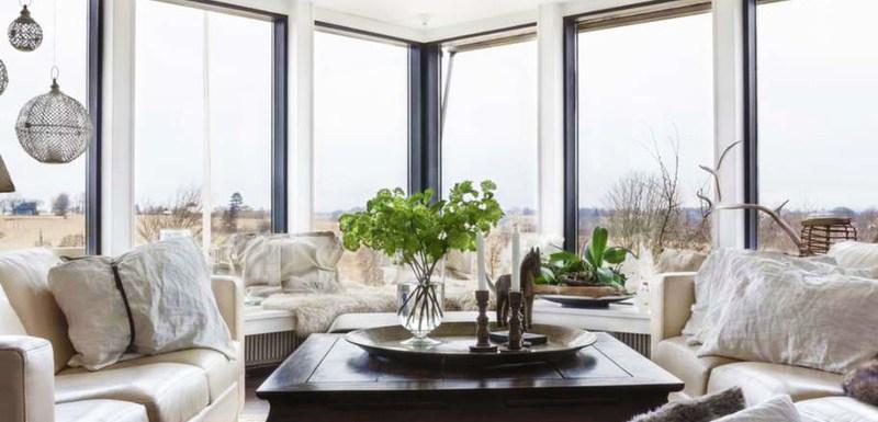 Una casa en Suecia - salón