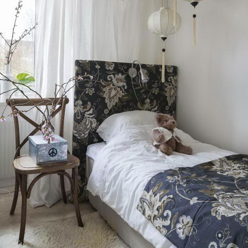 Casa en Suecia - habitación