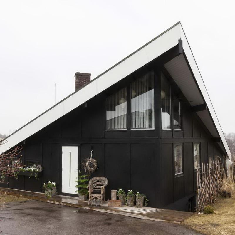 Una casa en Suecia - exterior