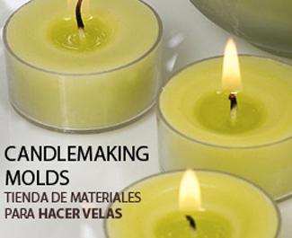 Moldes para hacer velas
