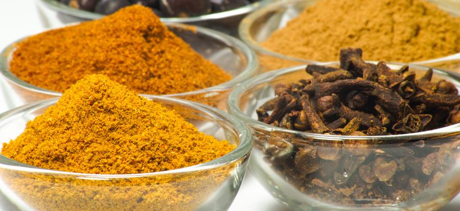 Especias que se utilizan como colorantes cosméticos