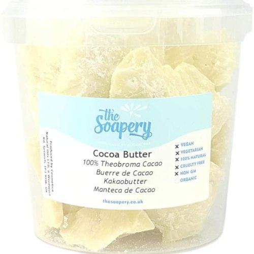 Manteca de cacao pura sin refinar 1 kilo