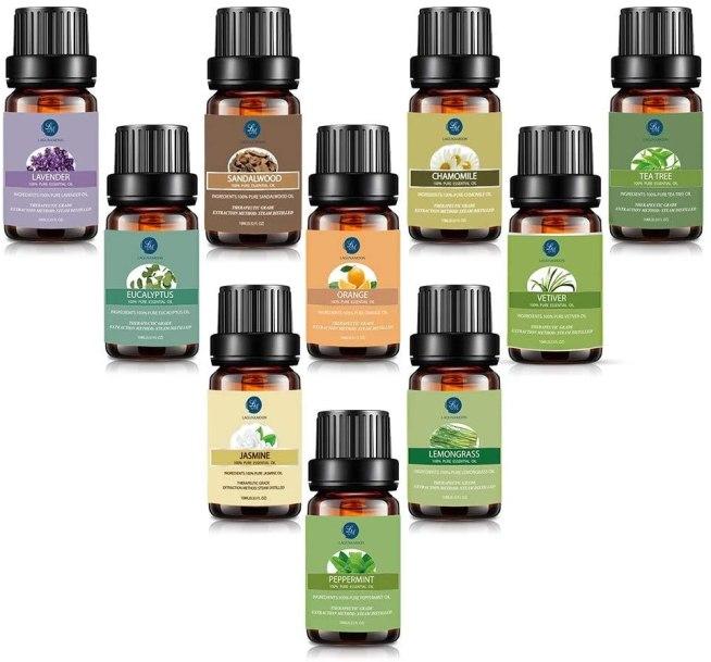 Luganamoon aceites esenciales set de 10