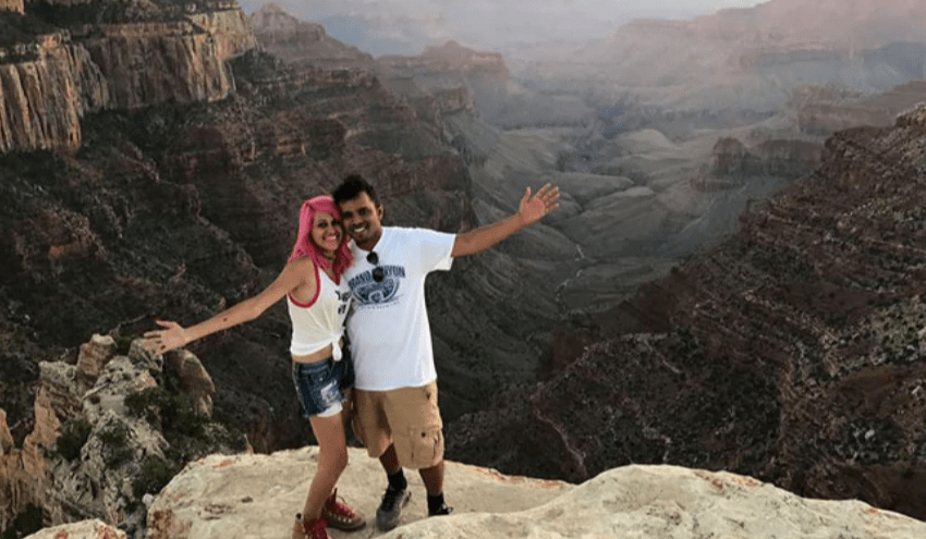 Indian Couple fall 800 feet to their death in California's Yosemite national park