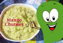 Raw Mango Chutney Recipe, Mango recipes, chutney recipes, seasonal recipes