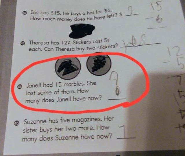Majka djevojčice objavila nerješivo pitanje iz domaće zadaće, mišljenja podijeljena 1