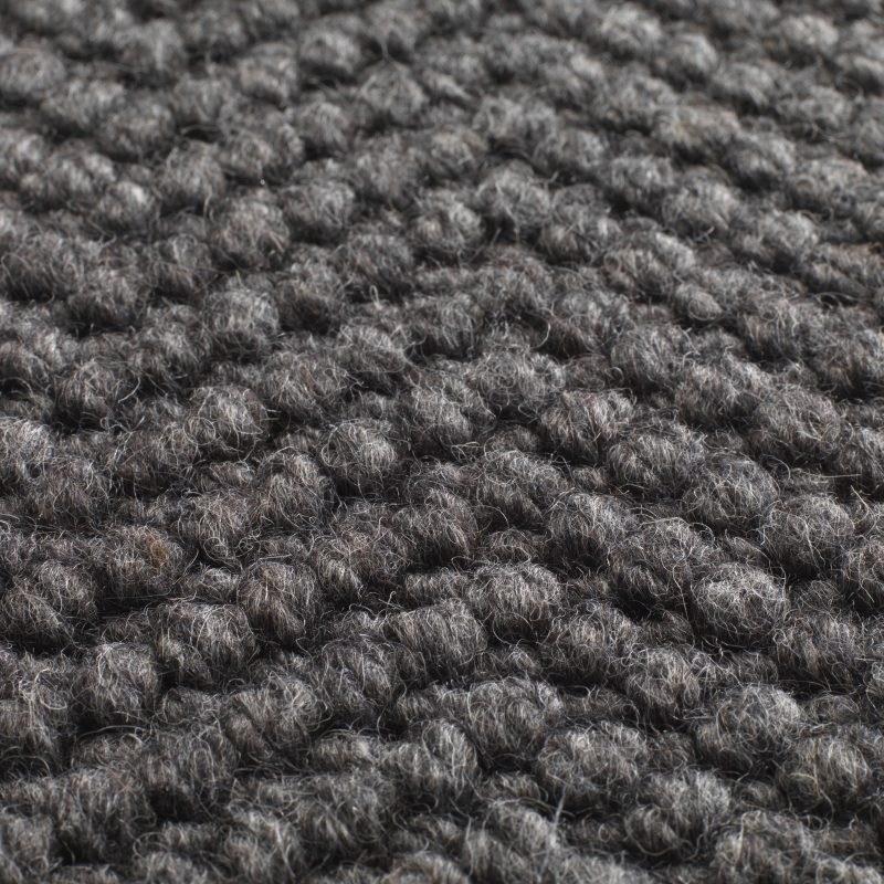 Natural Weave Herringbone Machine Made Texture Pure Wool   Herringbone Carpet On Stairs   Edgecomb Gray   Design   High Traffic   Commercial   Light Grey Grey